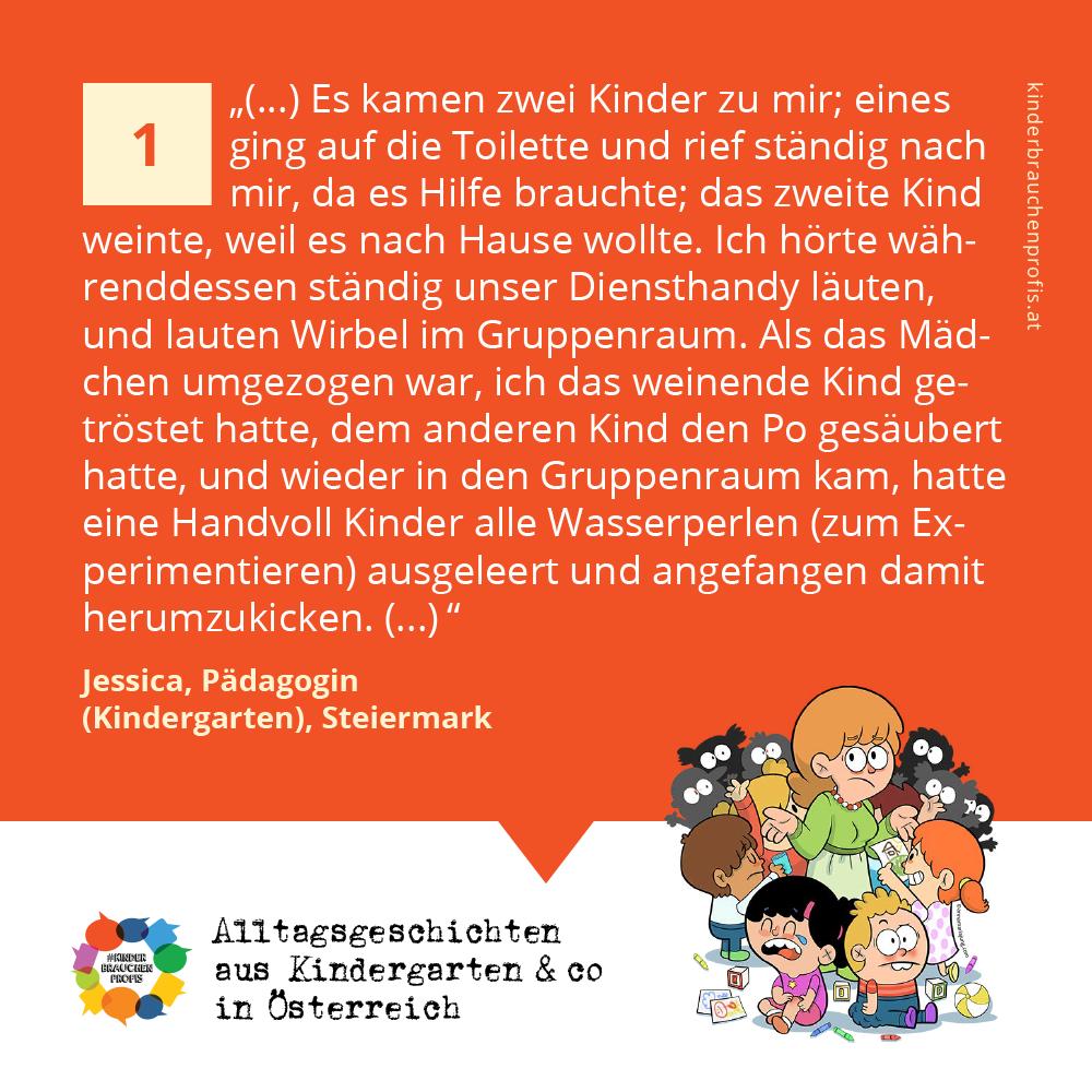 Alltagsgeschichten aus Kindergarten & co in Österreich (1)