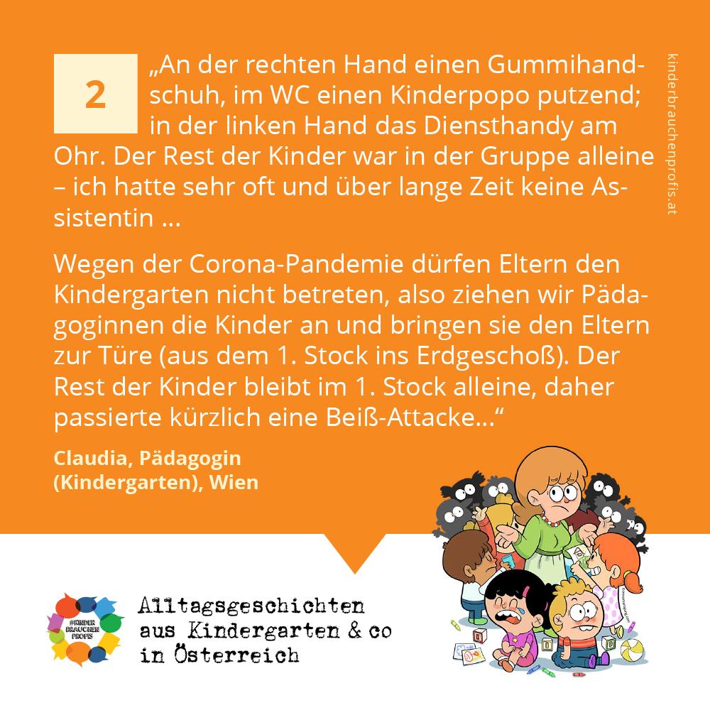 Alltagsgeschichten aus Kindergarten & co in Österreich (2)