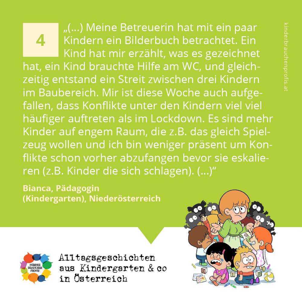 Alltagsgeschichten aus Kindergarten & co in Österreich (4)