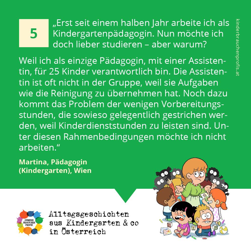 Alltagsgeschichten aus Kindergarten & co in Österreich (5)
