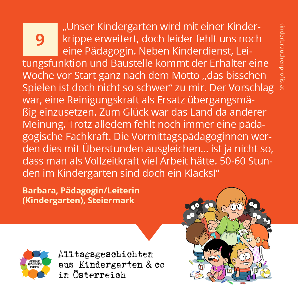 Alltagsgeschichten aus Kindergarten & co in Österreich (9)