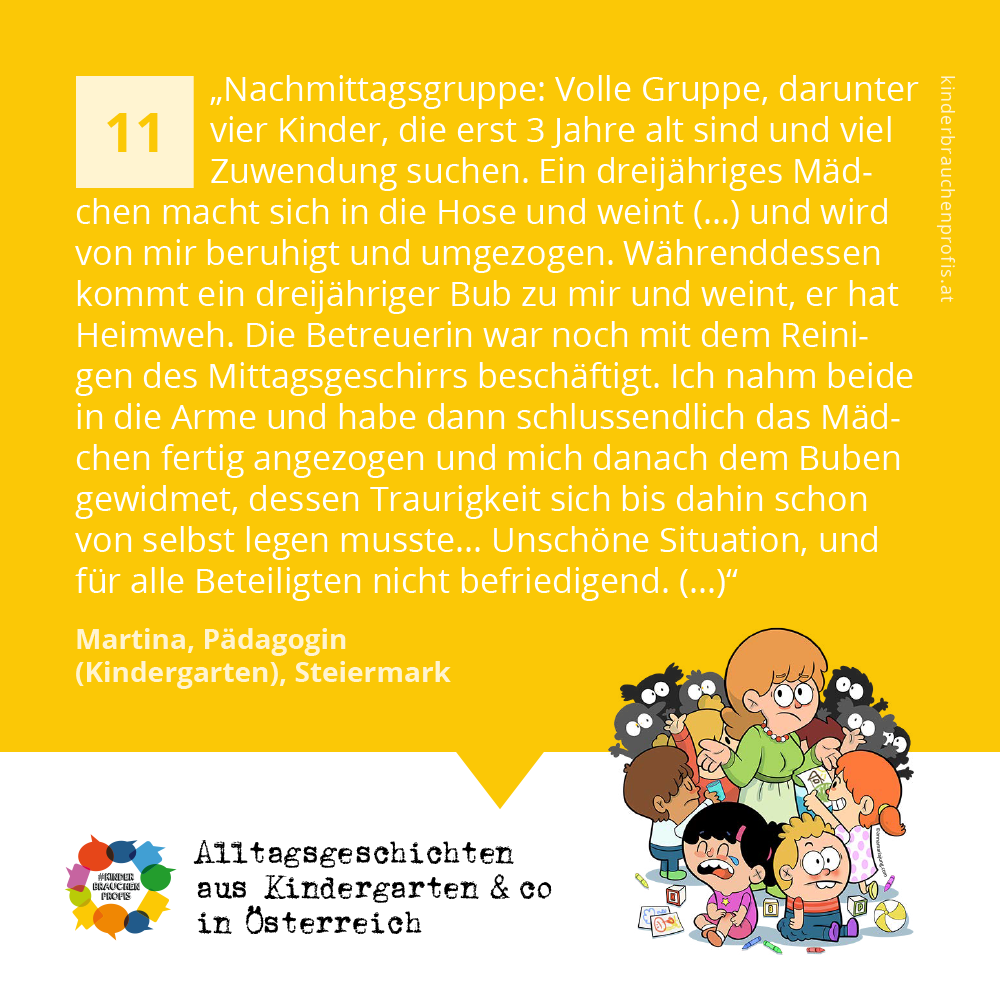 Alltagsgeschichten aus Kindergarten & co in Österreich (11)