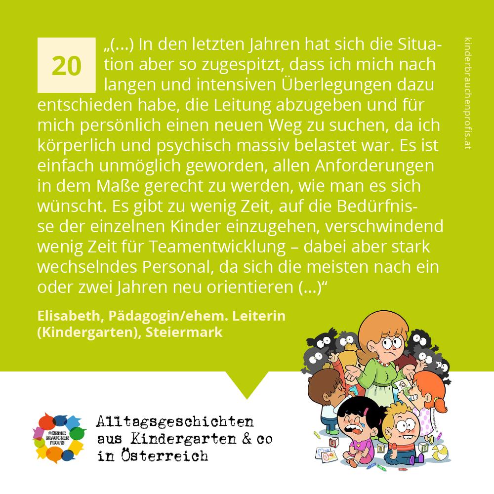 Alltagsgeschichten aus Kindergarten & co in Österreich (20)