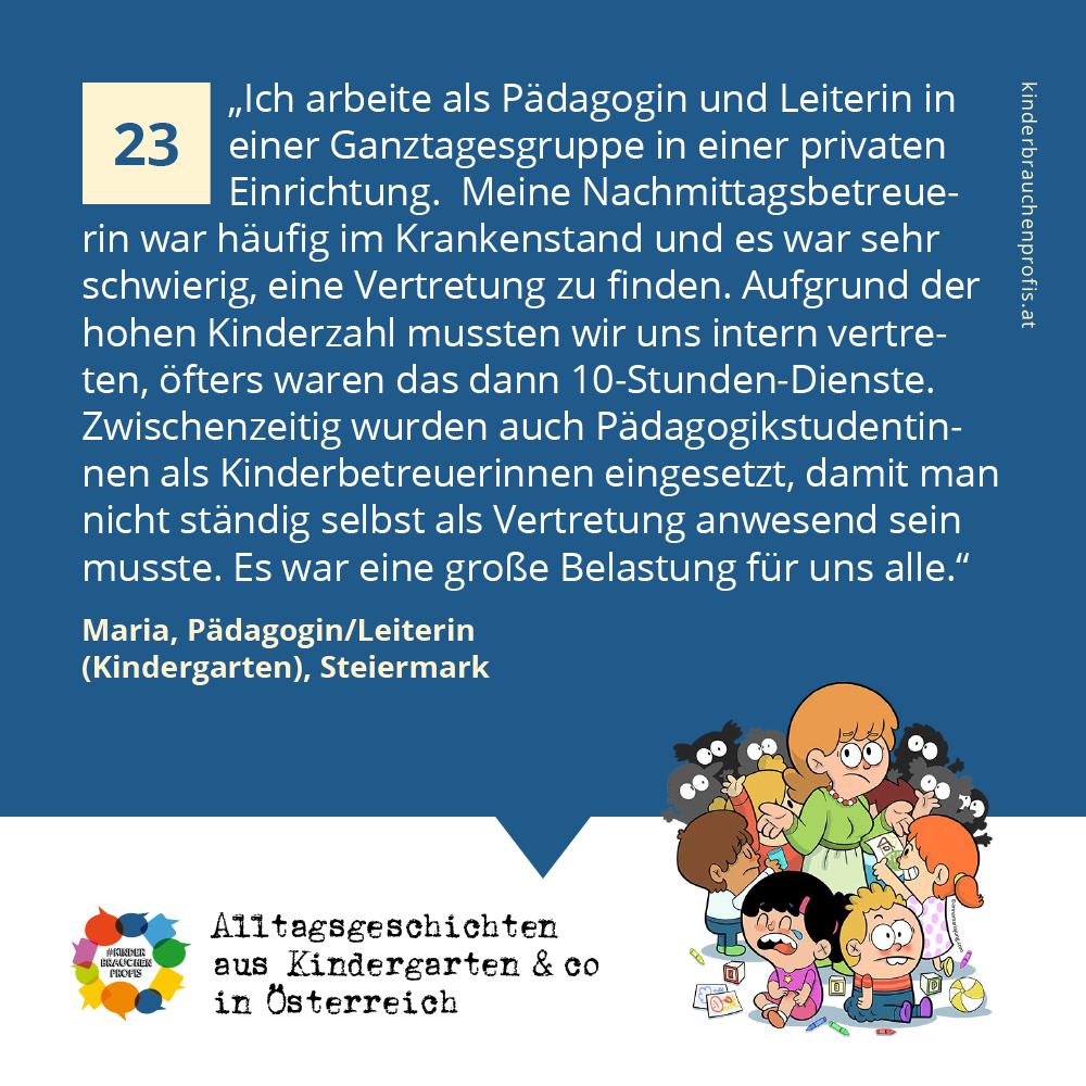 Alltagsgeschichten aus Kindergarten & co in Österreich (23)